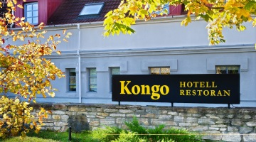 Kongo Hotell Haapsalus hotelli fassaad (1)
