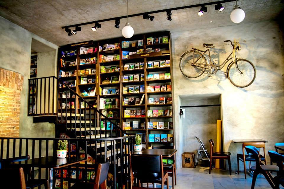 Haapsalu Raamat Café, Picture author: Tiina Prants